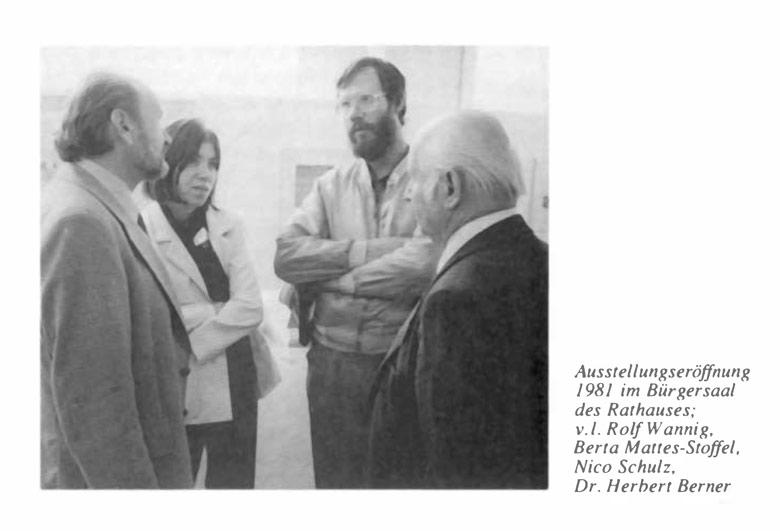 Ausstellungen 1976 - 1986