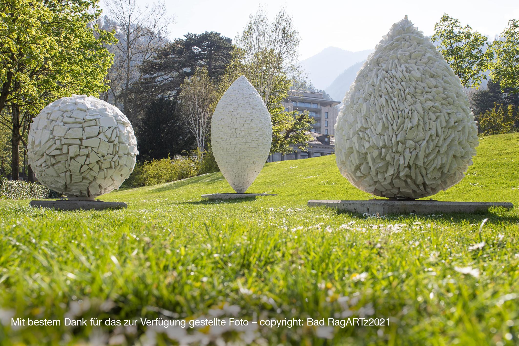 Kunstausfahrt zur Skulpturen-Triennale in Bad Ragaz (CH)