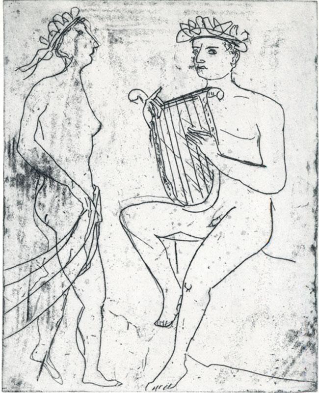 """Walter Herzger """"Orpheus"""""""