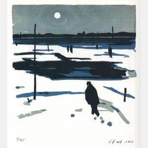 "Ernst Graf ""Winter am See"""