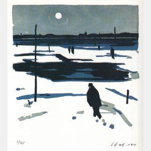"""Ernst Graf """"Winter am See"""""""