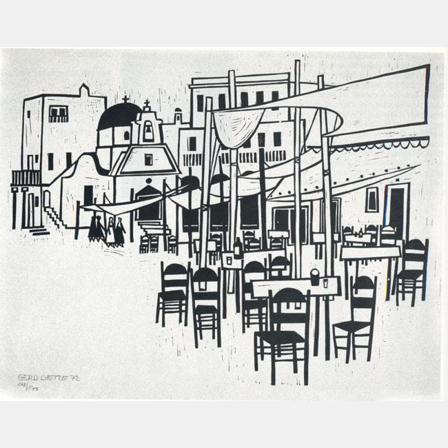 "Gerhard Dietze ""Caféteria"""