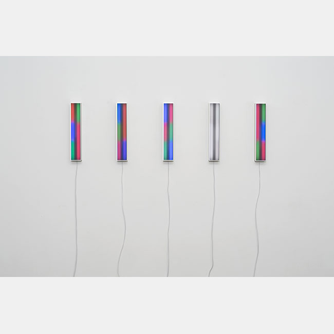 "Miriam Prantl Multiple ""LED-Relief m7 2012 Vertikal"""
