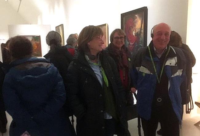 Kunstausfahrt Museum Unterlinden in Colmar 2016