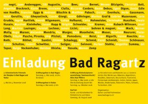 Kunstausfahrt Bad RagARTz